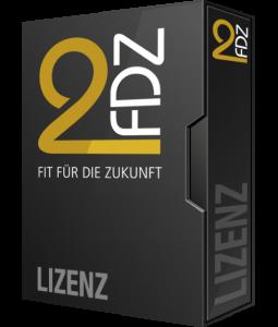 Lizenz-Karton